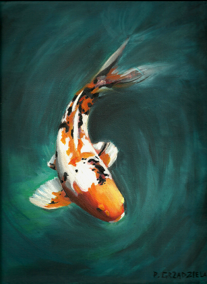 Pin By Kate Vesely On Art Pinterest Koi Fish And Paintings