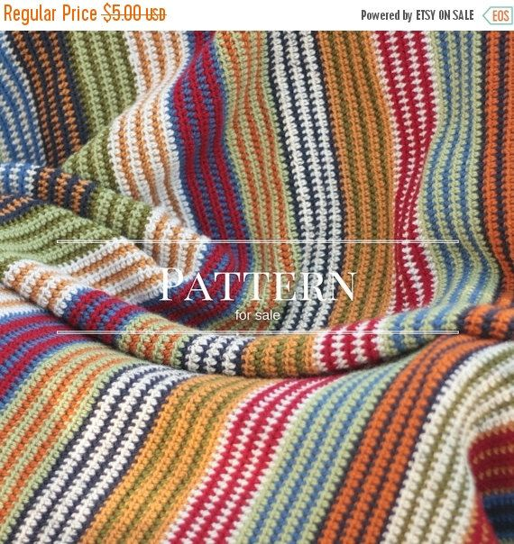 Easy Crochet afghan pattern | Easy crochet, Easy crochet patterns ...
