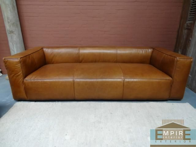 bank sofa model tribeca 3 seater banken empire bv - Banksofa
