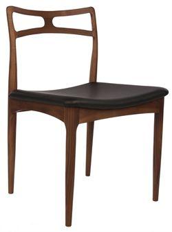 Replica Johannes Andersen Model 94 Radha Dining Chair Walnut by Johannes Andersen - Matt Blatt     $395