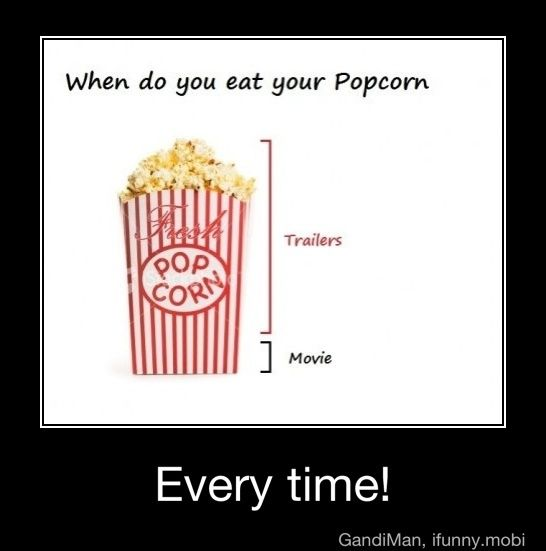 Funny Meme Eating Popcorn : I honestly can t really remember got out of eating and