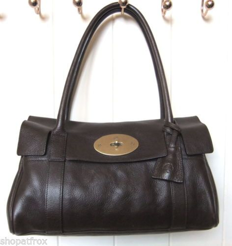 a17e532db9 ... switzerland mulberry east west bayswater chocolate brown leather bag  free uk post 02a61 fbe09