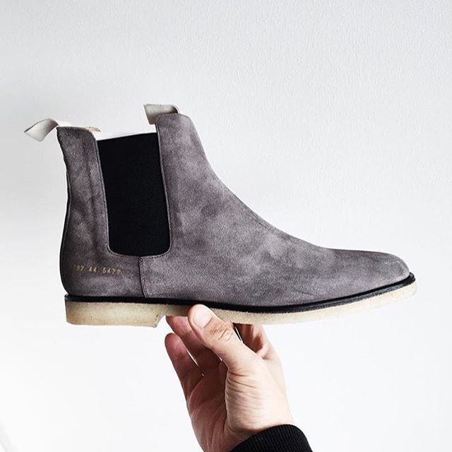 666afda866 Common projects Chelsea boots | On the Feet | Common projects ...