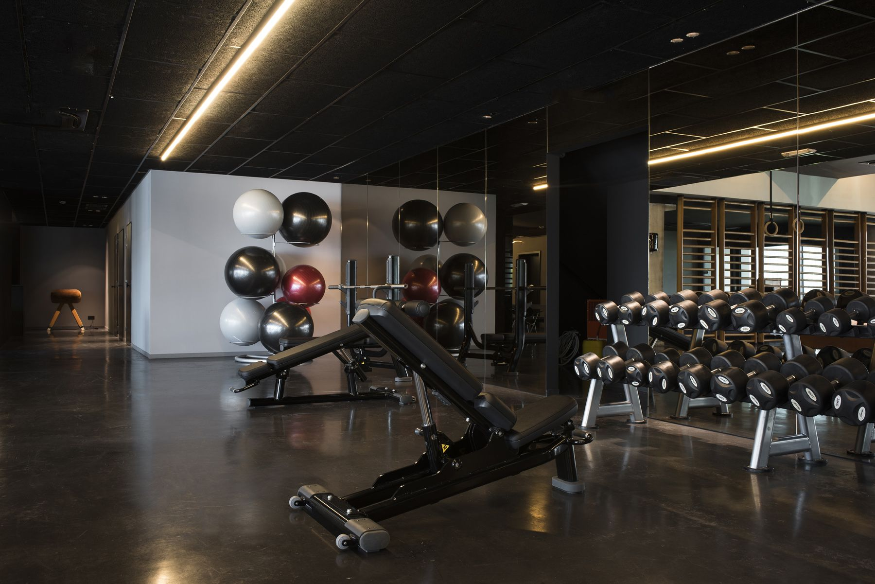 Pin by on Gym Architect, Ghent, Concrete ceiling
