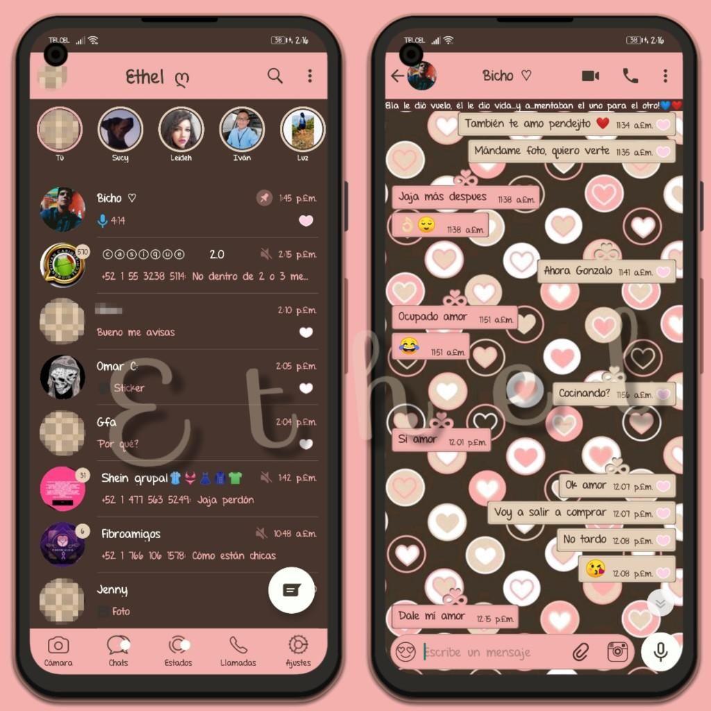 Love Coffee Theme For YOWhatsApp & YX WhatsApp By Ethel   Iphone ...