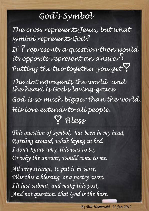God S Symbol Spiritual Poetry Spirituality Poetry Poems