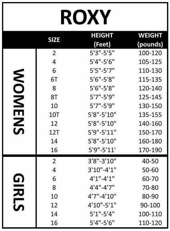 hyperflex wetsuit sizing chart