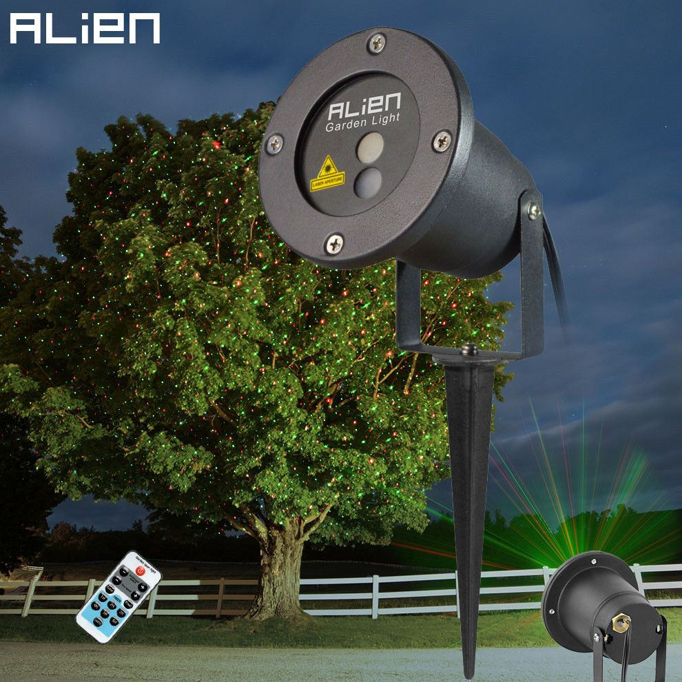Commercial Outdoor Christmas Tree Lights: ALIEN Remote Christmas Outdoor RG Laser Light Show