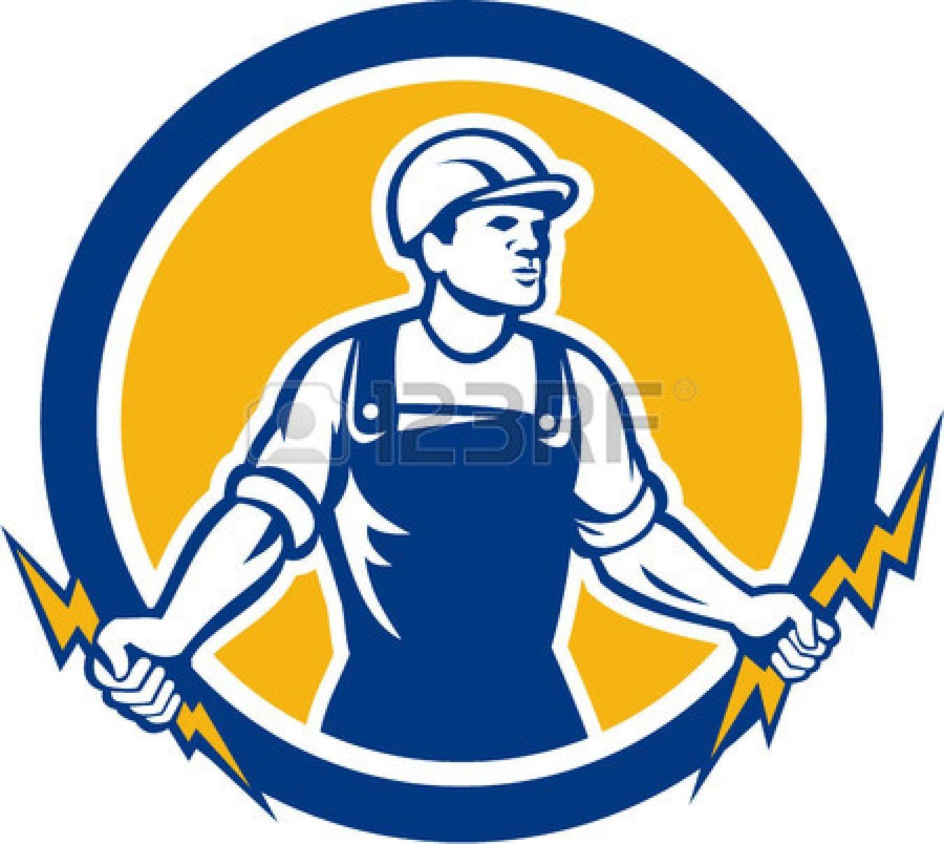 Vintage Lightning Logo Google Search Lightning Logo Retro Illustration Power Lineman