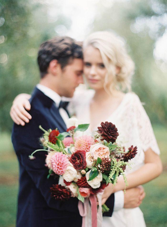 Magnolia Rouge + Jen Huang + Fleuriste on Grey Likes New Zealand Auckland Wedding Garden Inspiration