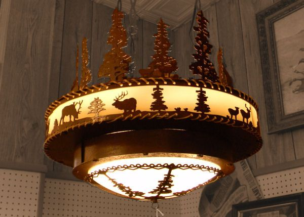 Cherokee Iron Works Rustic Western Lighting