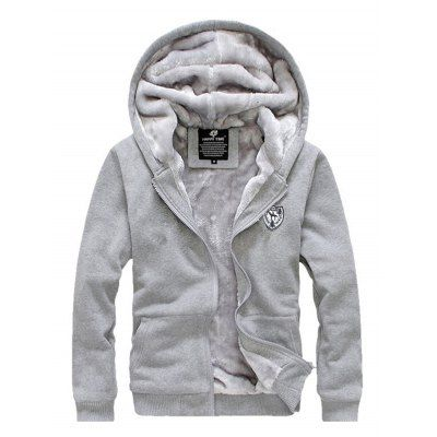Zip Up Patch Hoodie Twinset #shoes, #jewelry, #women, #men, #hats
