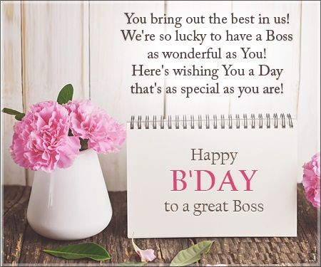 Birthday Quotes for your Boss | Crystal | Birthday message for