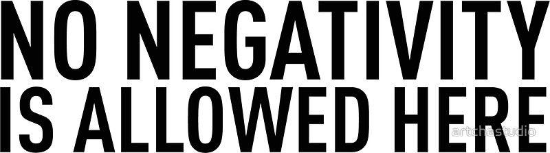 No Negativity Negativity Reggae Music Motivation