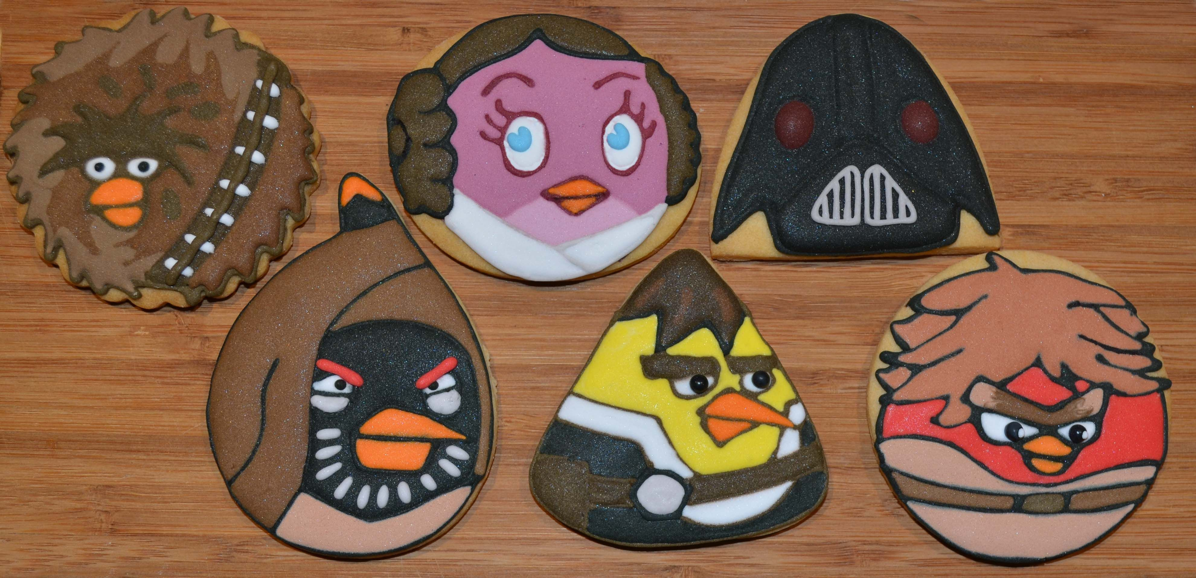 Star Wars Angry Bird Cookies