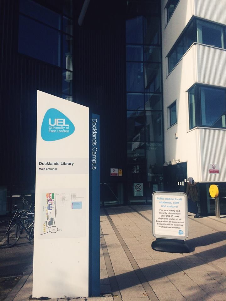 Docklands Campus Library Here At Uel Http Www Uel Ac Uk Docklands Campus University