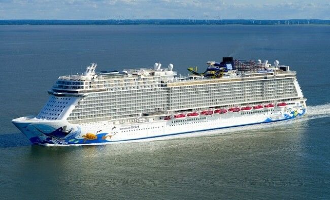 Norwegian Cruise Line Takes Delivery Of Its Largest Cruise Ship Norwegian Cruise Line Norwegian Cruise Norwegian Escape