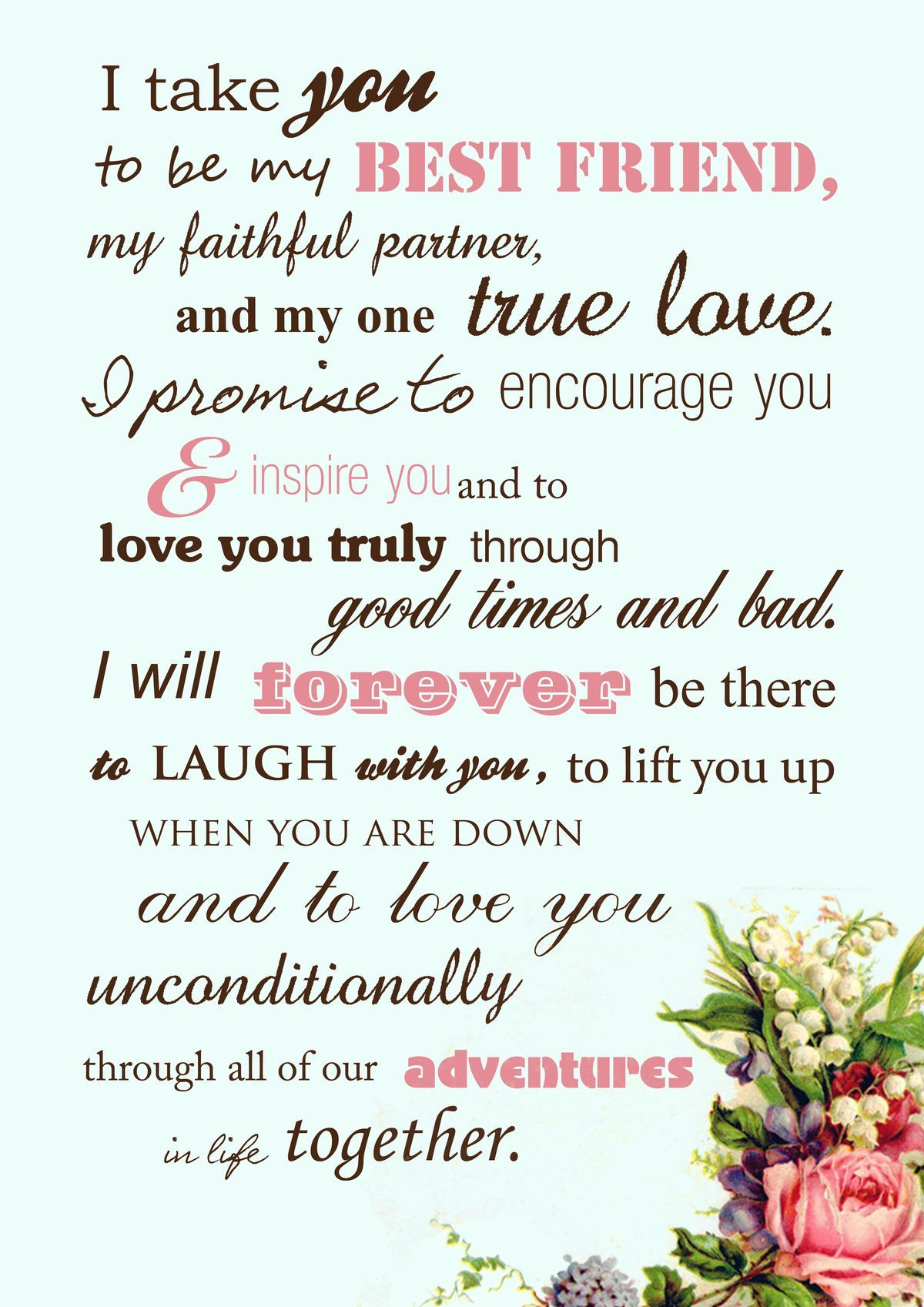 traditional wedding vows best photos Funny wedding vows