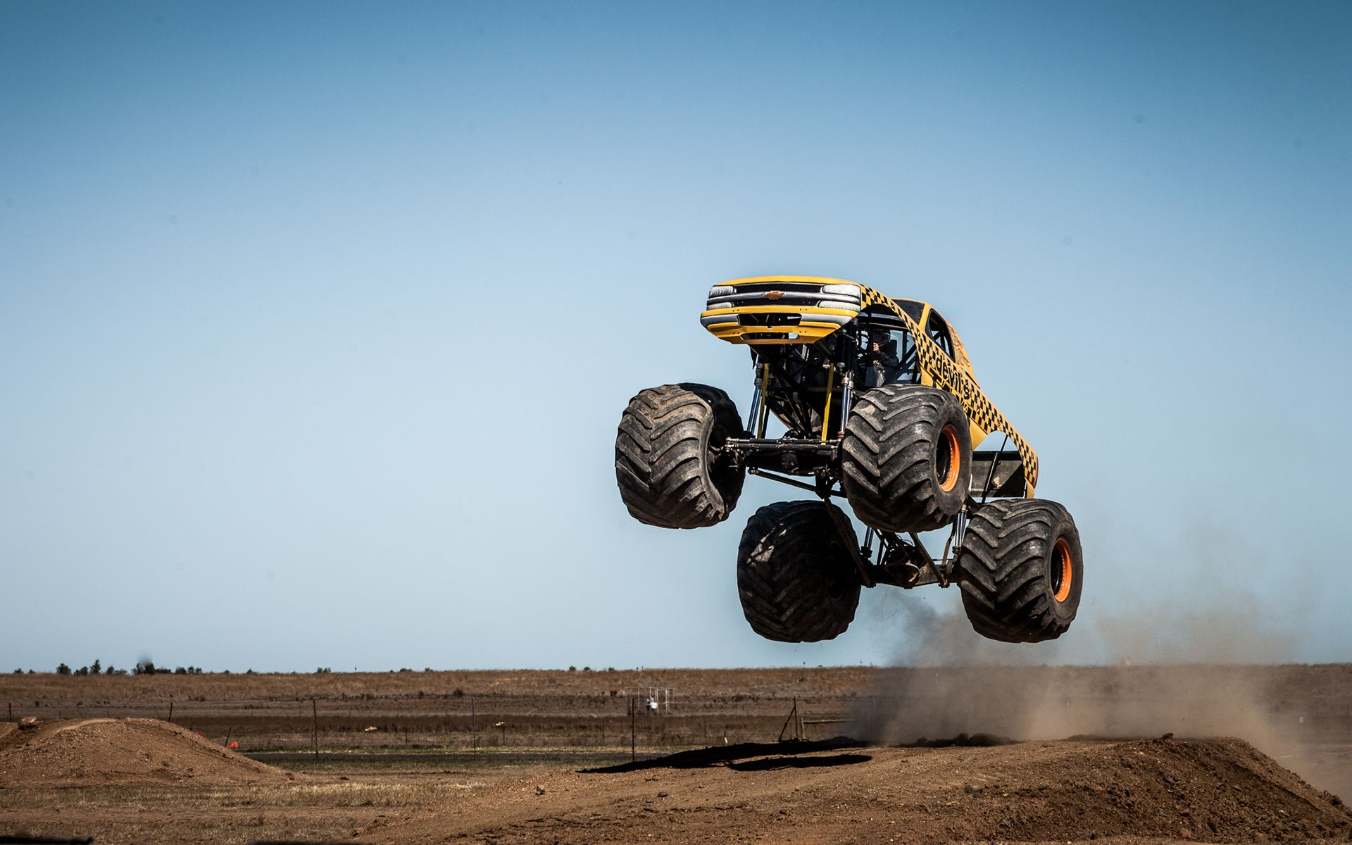Monster Truck Action Backgrounds Photo Car Wallpapers Where