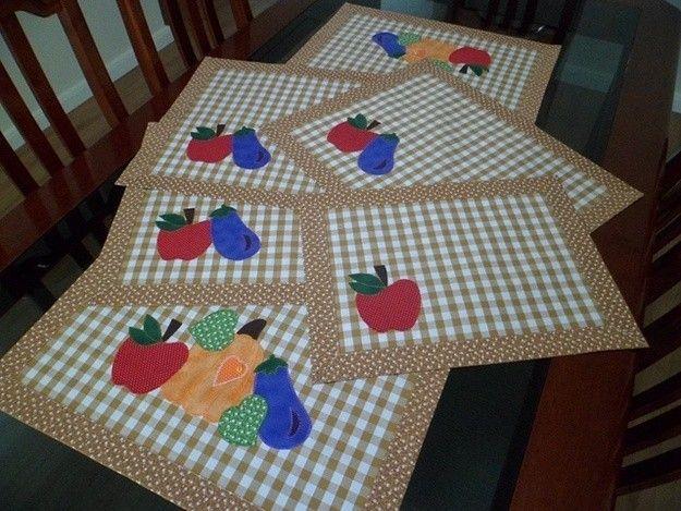 Manteles de patchwork fotos de dise os proyectos - Ideas para hacer manteles ...