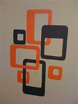 Image result for Mid Century Modern Atomic Wall Art Patterns