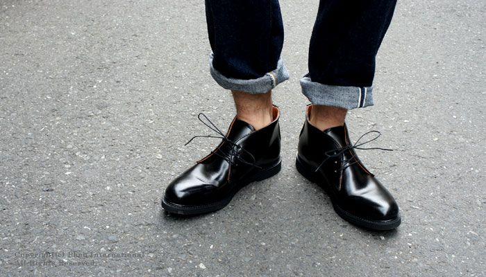 コーヴシューカンパニー cove shoe company アメリカ製3アイレットポストマンチャッカ チャッカブーツ cove shoe chukka black 送料無料 あす楽対応 チャッカブーツ アメカジ スタイル