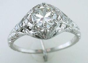 Find Great Deals On Ebay For Vintage Engagement Ring In Diamond Wedding And Rings