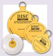 Great way to hang plates with no damage. Adhesive Disc Plate Hanger 50mm 75mm  sc 1 st  Pinterest & Great way to hang plates with no damage. Adhesive Disc Plate Hanger ...