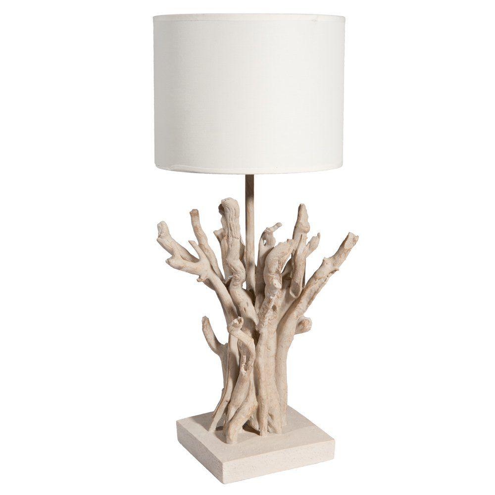 Lampe Bois Flotté Maison Du Monde