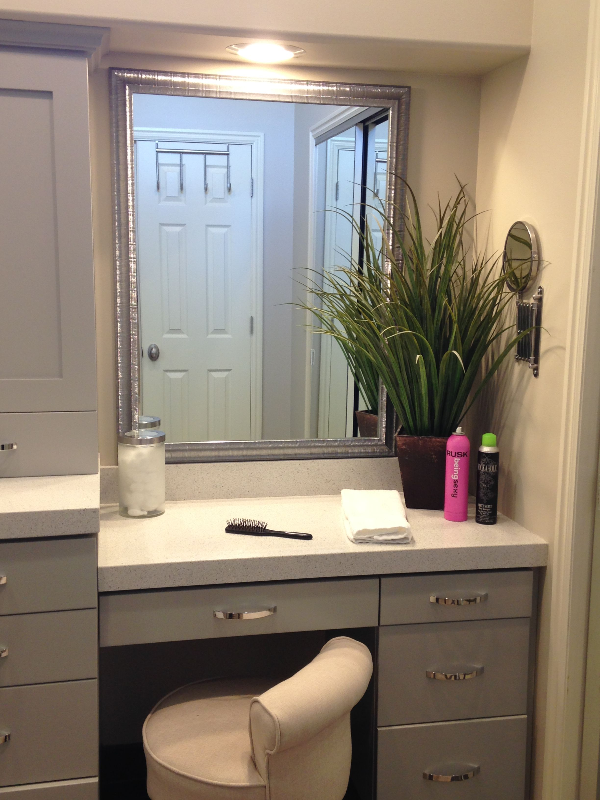 Frames That Stick To Your Big Boring Mirrors In Your Bathroom. NO NEED TO  TAKE