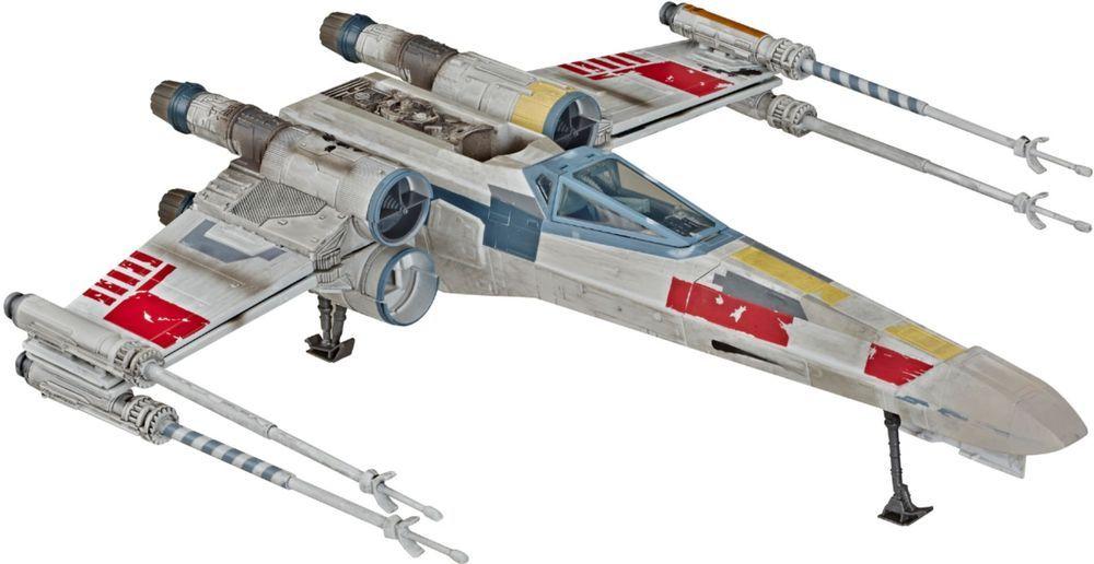 Star Wars The Vintage Collection Luke Skywalker S X Wing Fighter Vehicle Multi E6137 Best Buy In 2020 X Wing Fighter Fighter Vintage Collection