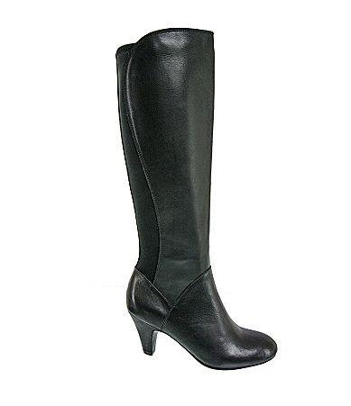 Naturalizer Babette Tall Wide Calf Stretch Boots #Dillards $150