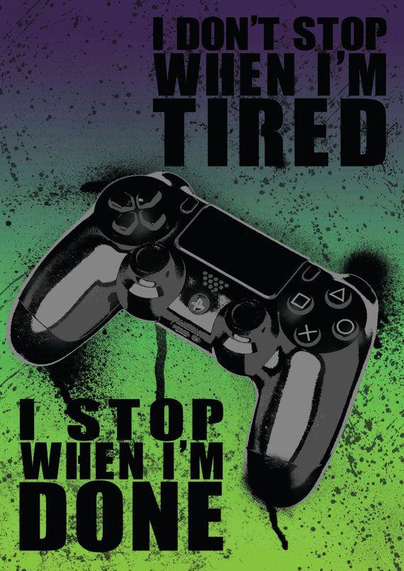 Playstation Poster Drucke Videospiel Poster Von Extremepandadesign Consolas Videojuegos Protectores De Pantalla Gamers