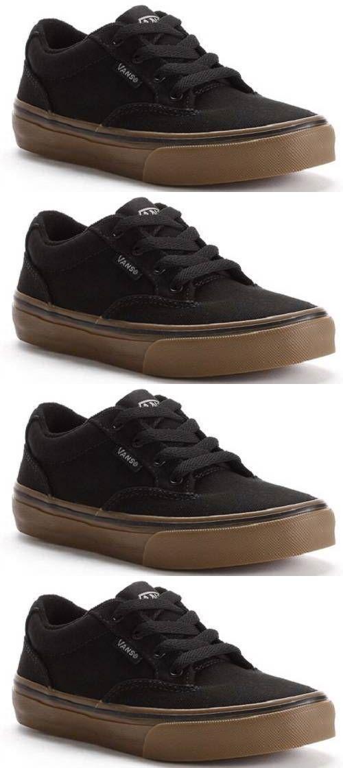 Casual Marrón 24087: hombres S Vans Winston negro Marrón Casual Canvas Casual Skate 0ae4e6