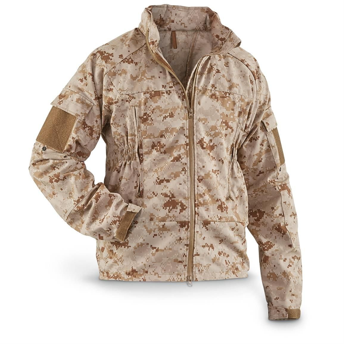 aafa900b742 New Men s USMC Military Surplus Digital Desert Frog Jacket