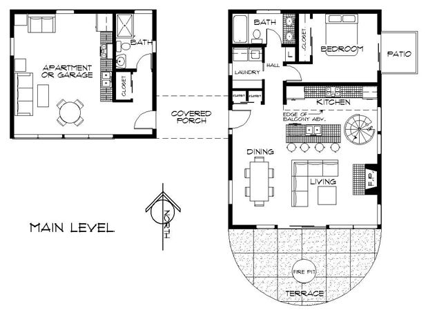 Guest House Plans With 2 Bedrooms House Design Ideas