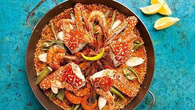 Seafood Sinigang Paella Recipe,  #freshseafood #Paella #Recipe #Seafood #seafoodhealthy #seafoodlogo #seafoodsalad #Sinigang
