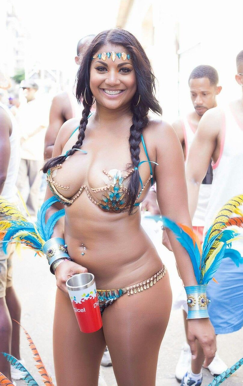 sexy naked woman in trinidad