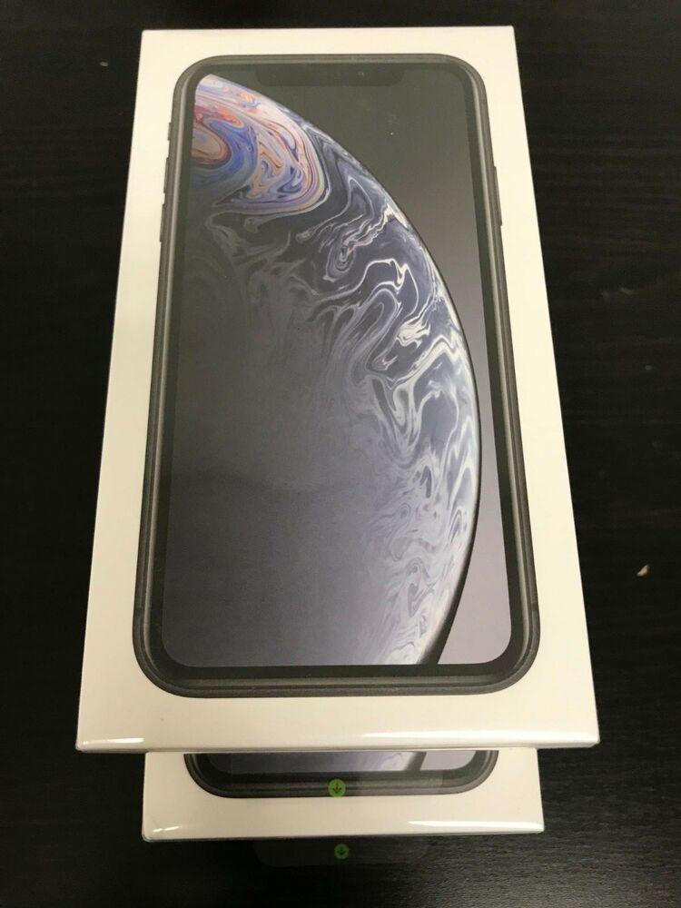 NEW Apple iPhone XR 64GB Black (AT&T/Cricket/Straight