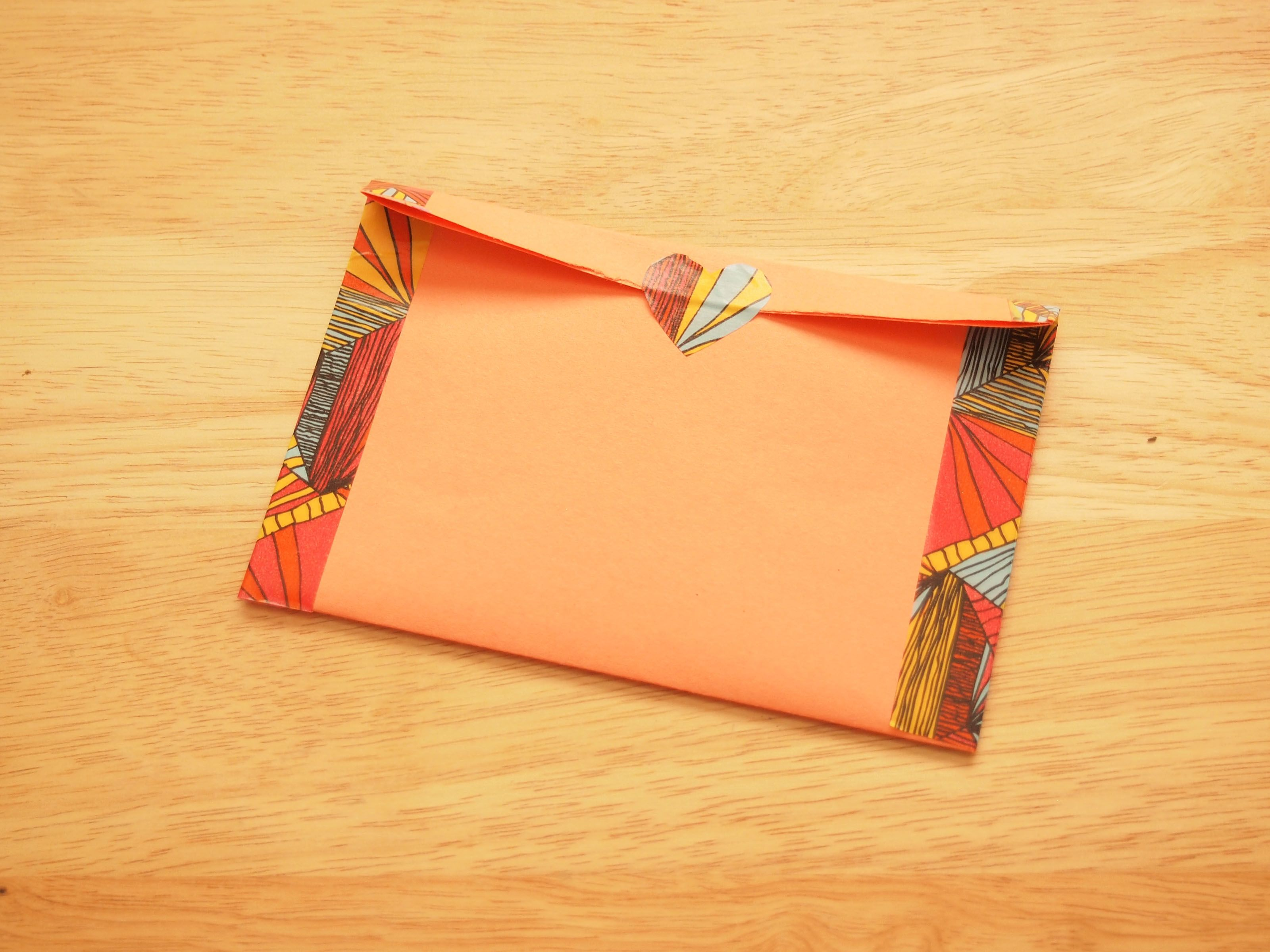 Make an Envelope How to make an envelope, Homemade