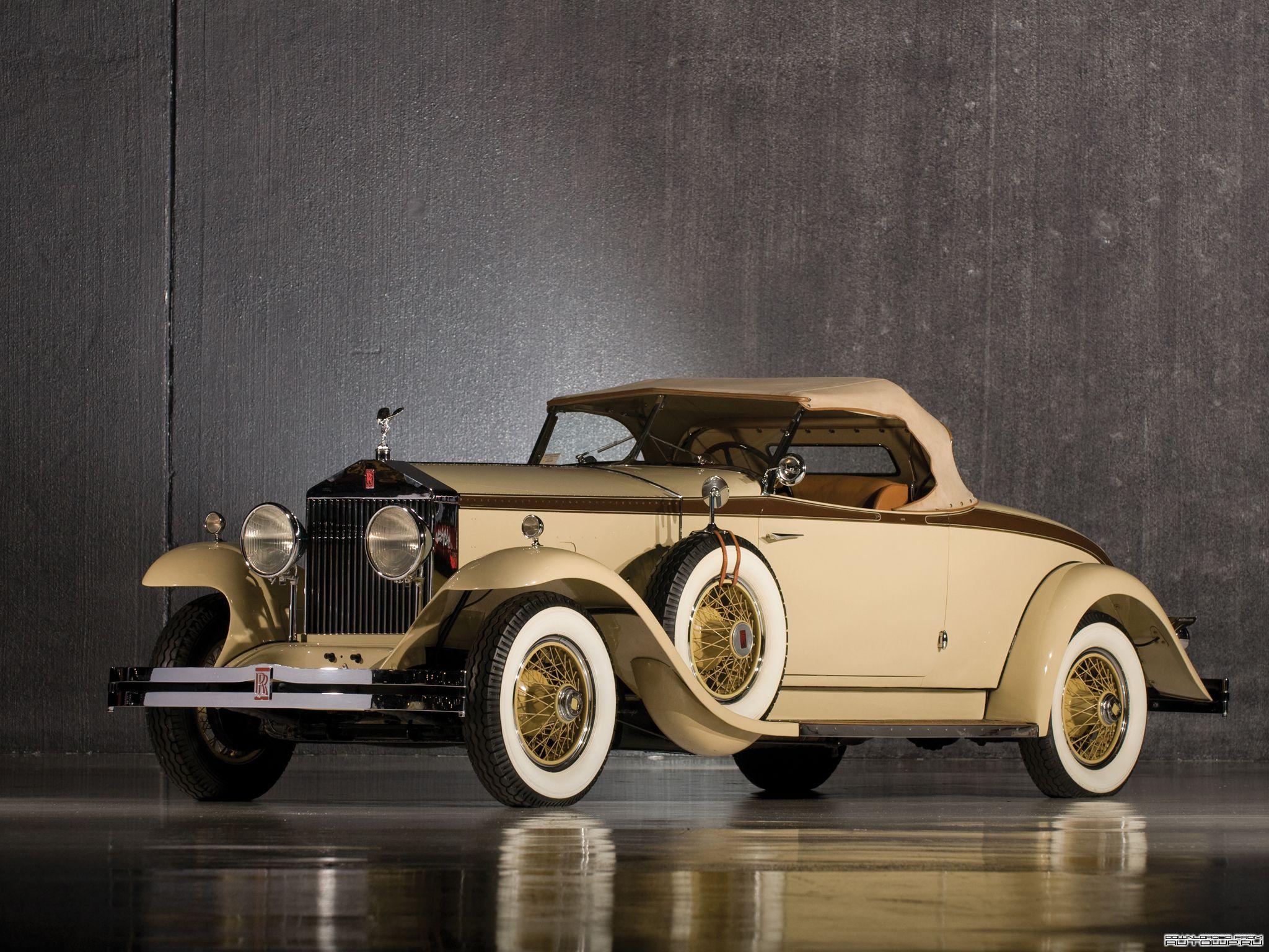 1929 Rolls Royce Phantom Henley Roadster