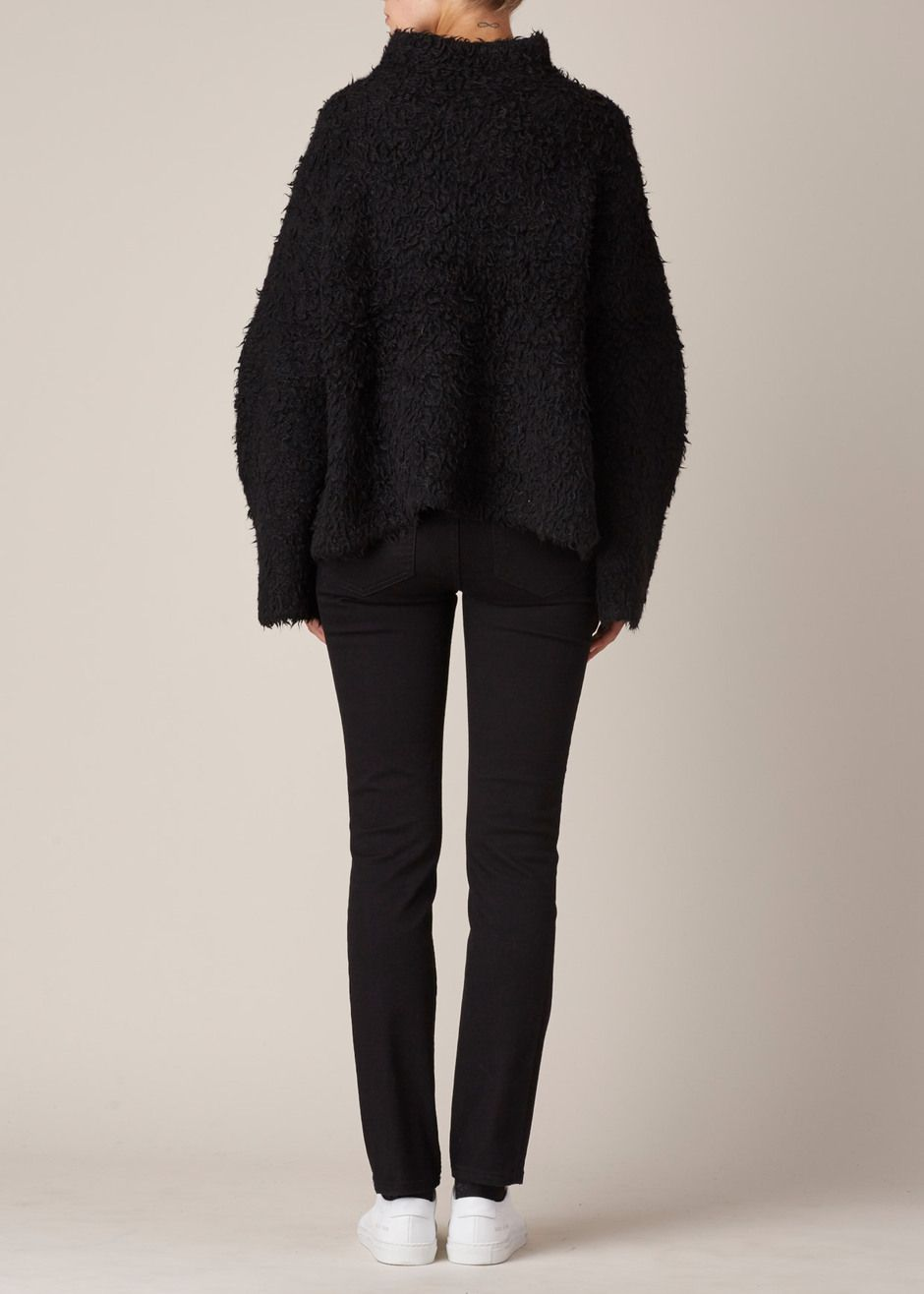 Lauren Manoogian Sherpa Pullover (Black) | FLY RAGS / STYLE ...