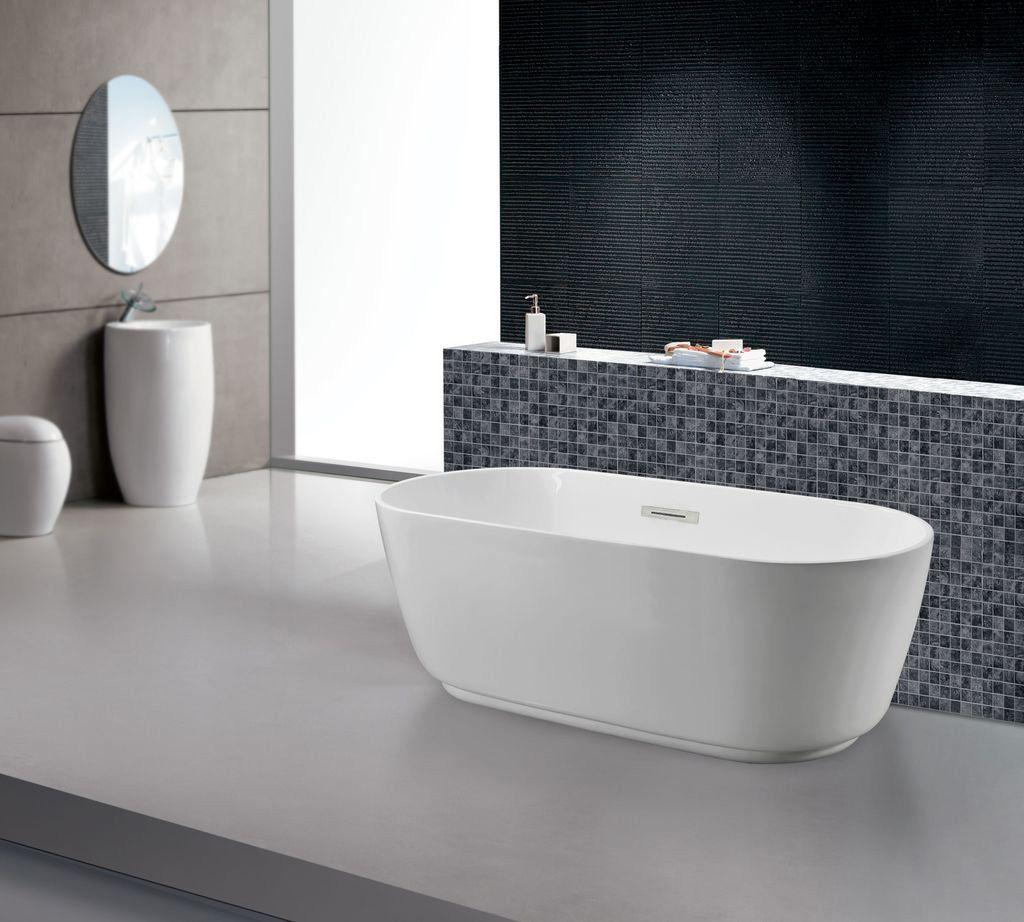 Naturliche Materialien Bringen Komfort Und Warme In Jedes Zuhause Glasdeals Sanitaracryl Badewanne Cartera F Freistehende Badewanne Badewanne Baden