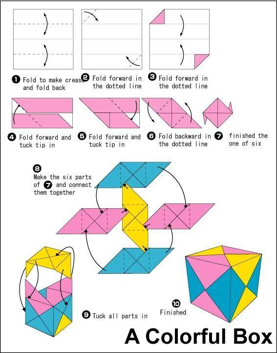 Cube 12 Units Origami Kusudama
