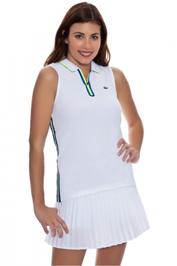 Shop Lacoste Tennis Looks Tennis Clothes Tank Top Fashion Ladies Tennis