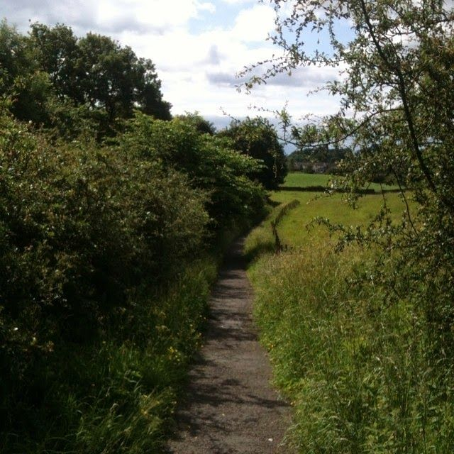 path from Burneside to Kendal