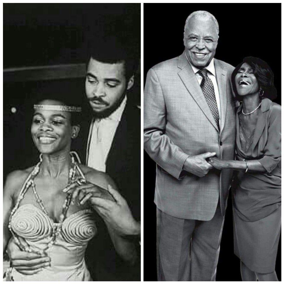 James Earl Jones and Cicely Tyson. | Cicely tyson ...