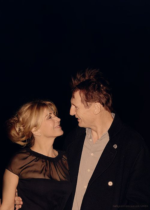 Natasha Richardson, Liam Neeson <3