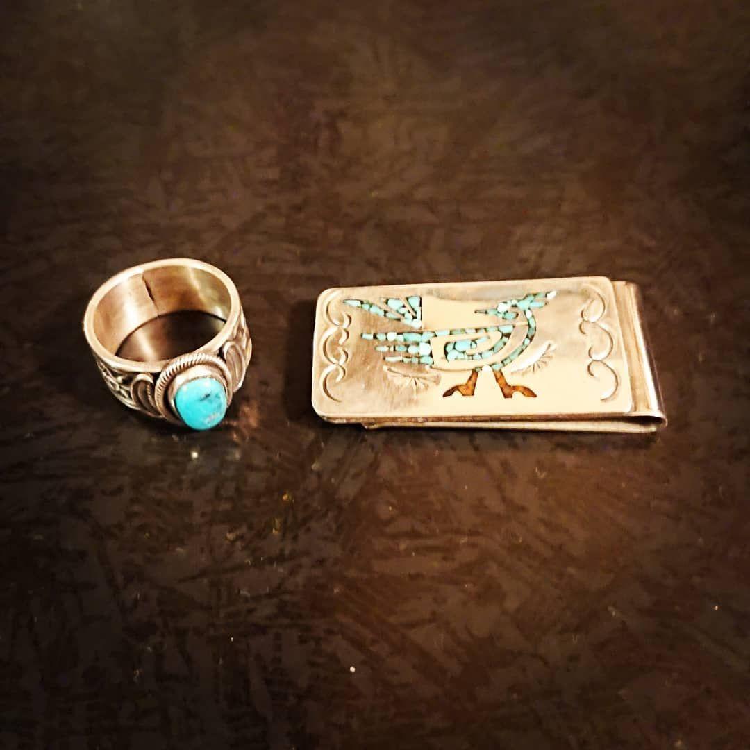 やっぱ好きなんすよ 笑 indianjewelry navajo silver ring