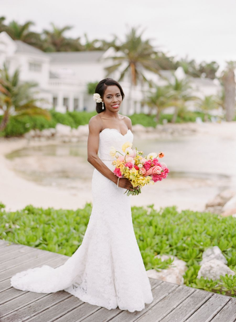 Sylvie Gil Photography | Makeup: Gourmet Makeup | Floral Design: Bows and Arrows | Reception Venue:  Golden Castle Golf and Spa | Ceremony Venue: Half Moon Resort | Planning: Shannon Leahy Events  | Dress: Modern Trousseau